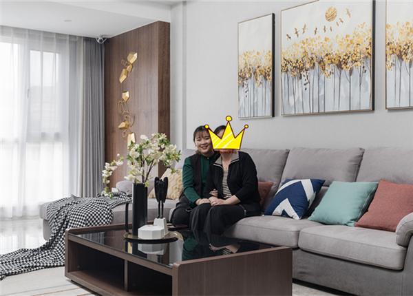 现代风格-百乐和园-两室两厅-140平-装修实景效果图
