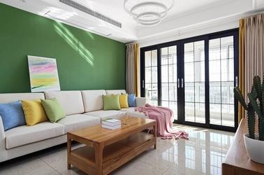 北欧风格-山韵佳苑-两室两厅-100平-装修实景图