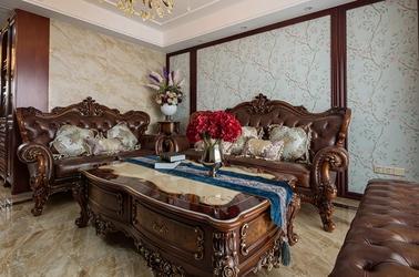 美式风格-春光苑-两室两厅-118平-装修实景效果图