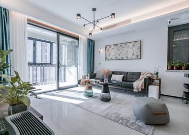 现代简约-华冶家园-三室两厅-130平-装修实景效果图