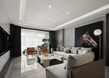 雅居乐中央府286平现代轻奢风格实景样板间视频