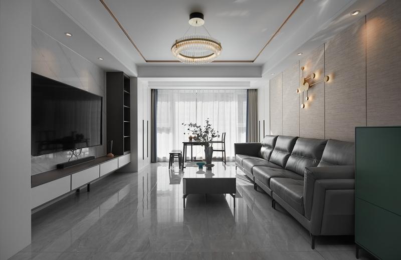 现代简约-溪岸景园-四室两厅-142平-装修实景效果图