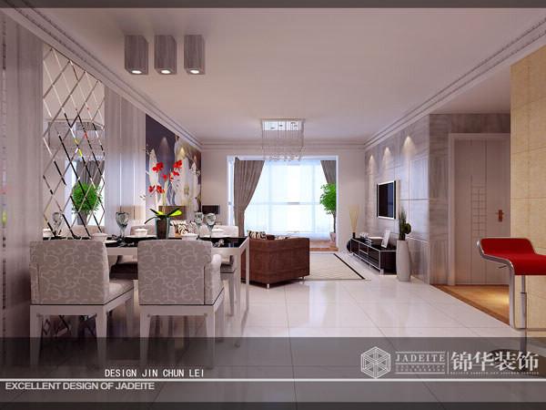 滨湖花园138m²装修-三室两厅-现代简约