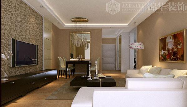 世贸东都装修-三室两厅-现代简约