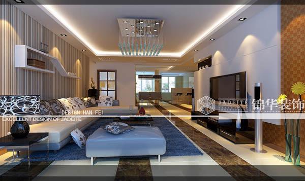 东南郡130m²装修-三室两厅-现代简约