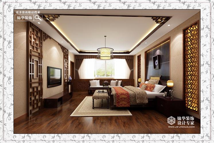 久隆凤凰城 独栋别墅 新中式装修-跃层复式-新中式