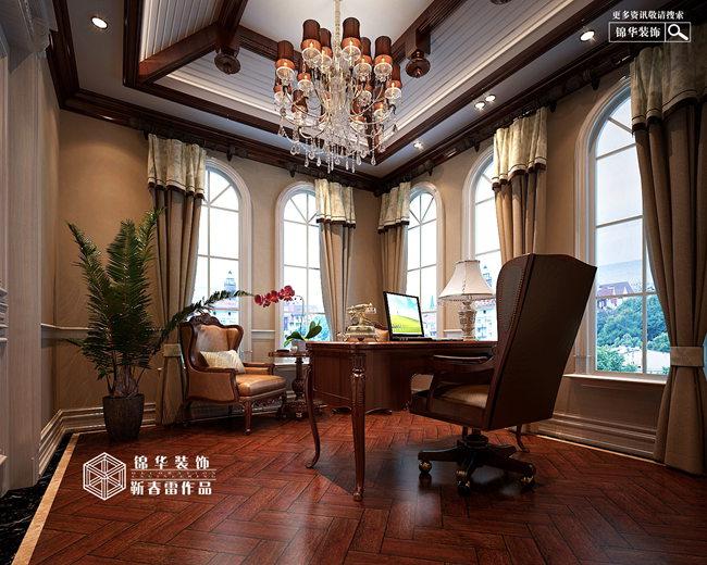 檀香山欧式+古典风格装修-别墅-欧式古典-徐州锦华