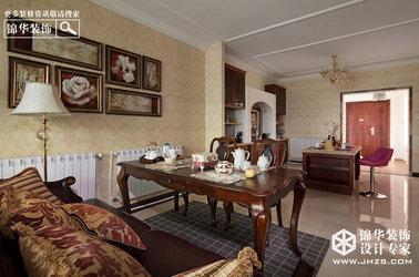 美式风格-滨湖花园-三室两厅-140㎡