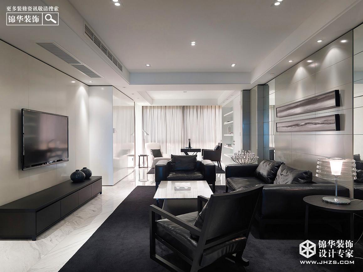 【平层//125平米//三室一厅//】>>>【滨湖花园】【现代简约风格】