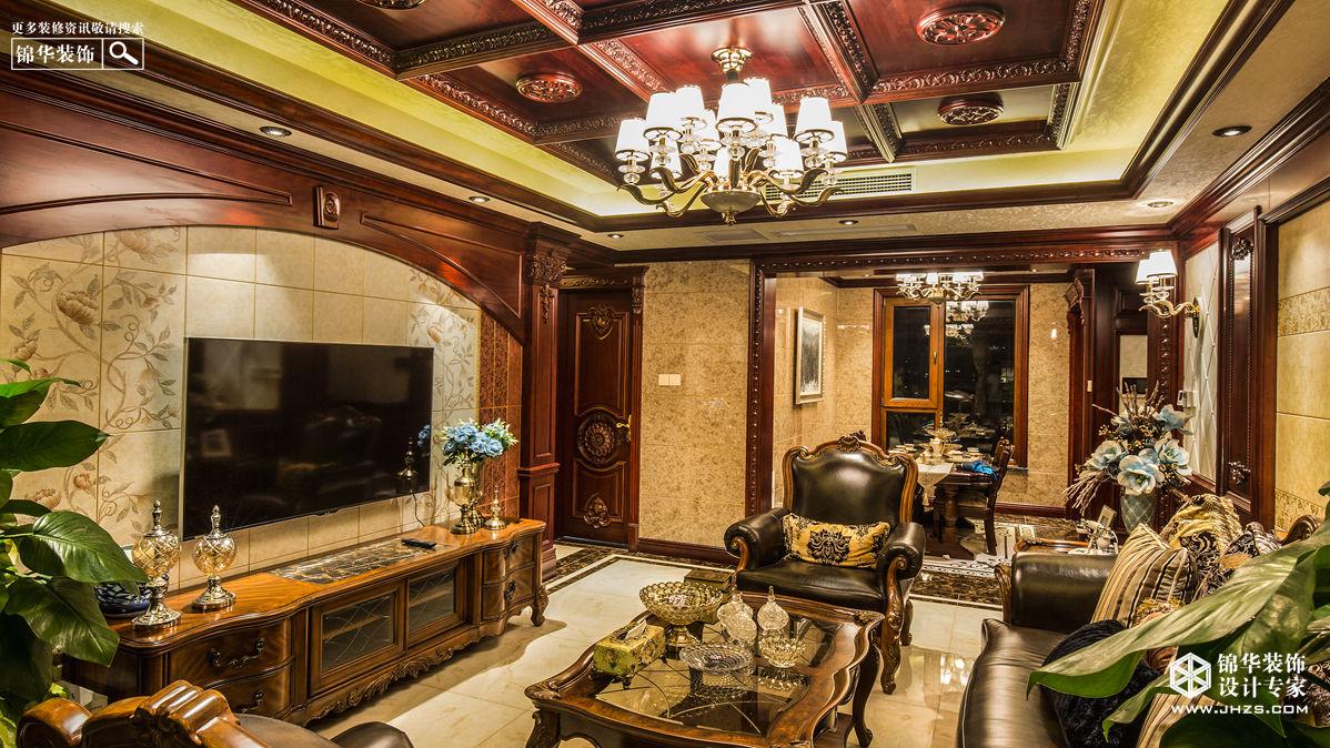 美式风格-翠湖御景-三室两厅-140㎡