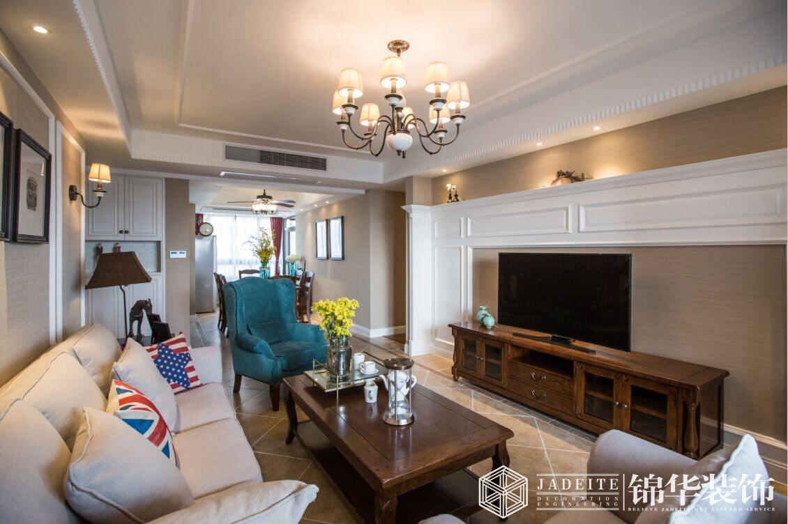 风尚米兰  128平  简约美式风格  三室两厅