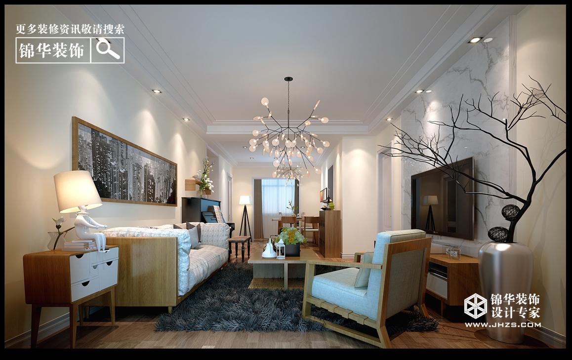 泊林公馆100㎡现代风格