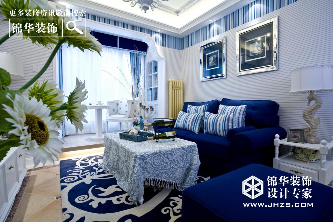 地中海风格-美的翰城-三室两厅-136㎡