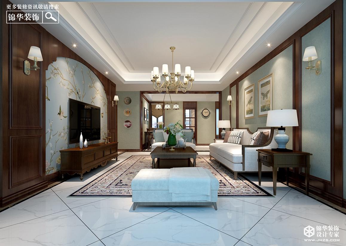 泊林公馆   140㎡   简约美式风格