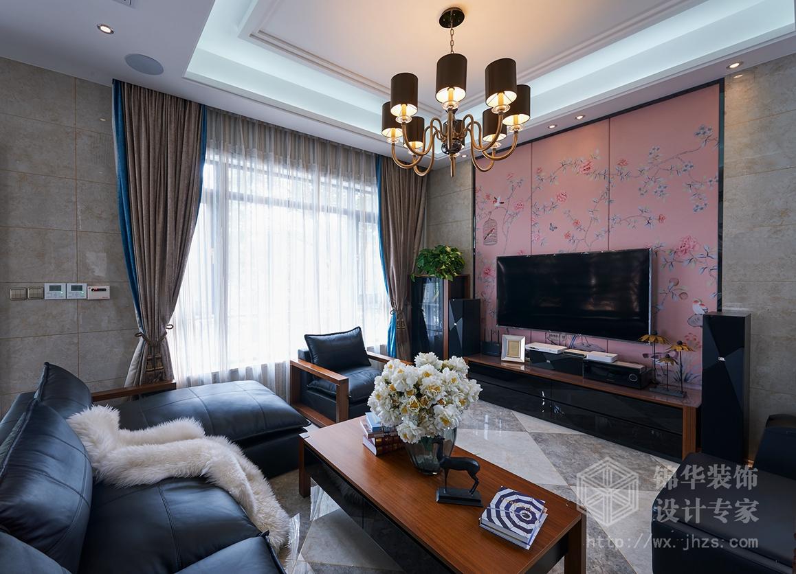 梅泾私宅280平现代中式风格