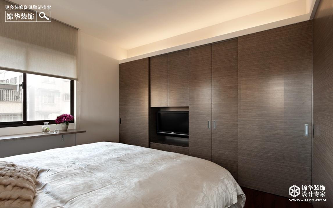 峰汇国际187平新中式装修-三室两厅-新中式