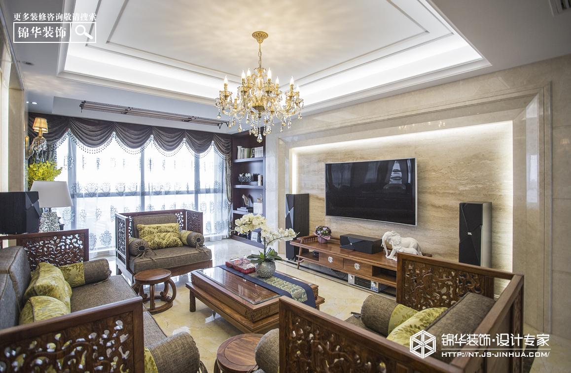 苏建学府雅居135平新中式风格实景作品