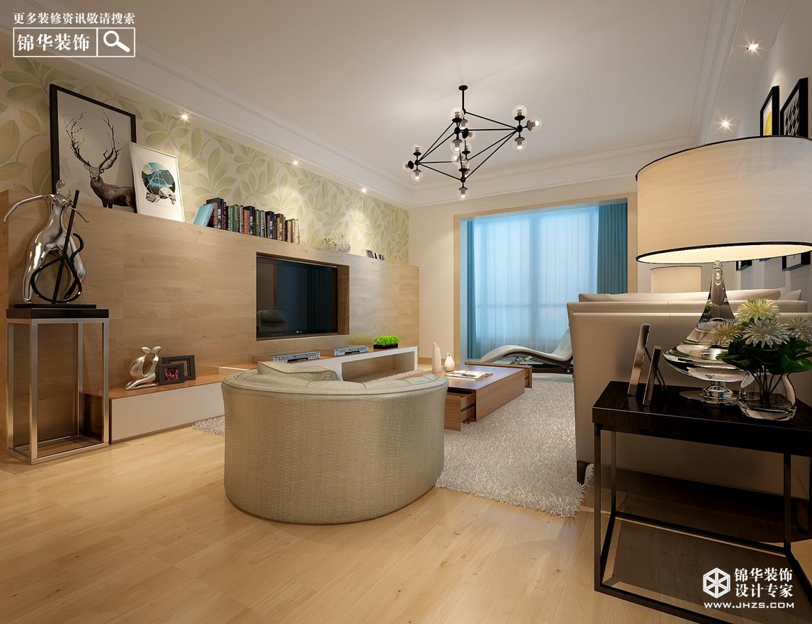 现代简约-滨湖花园-三室两厅-户型解析