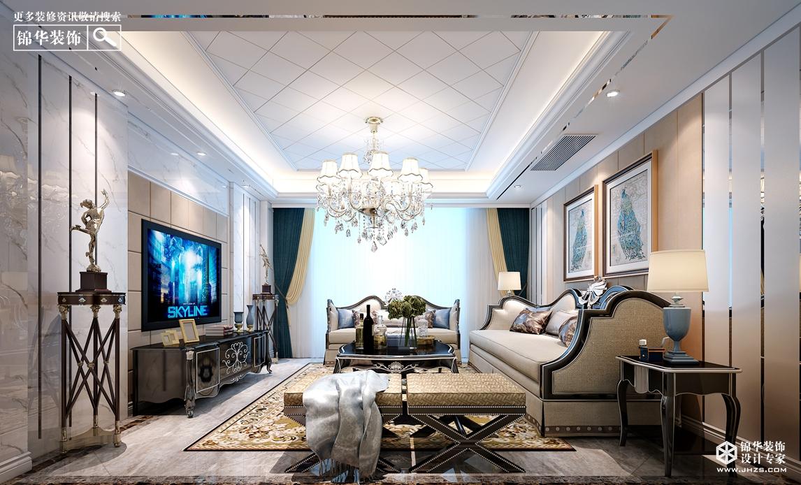 简欧风格-风尚米兰-三室两厅-户型解析