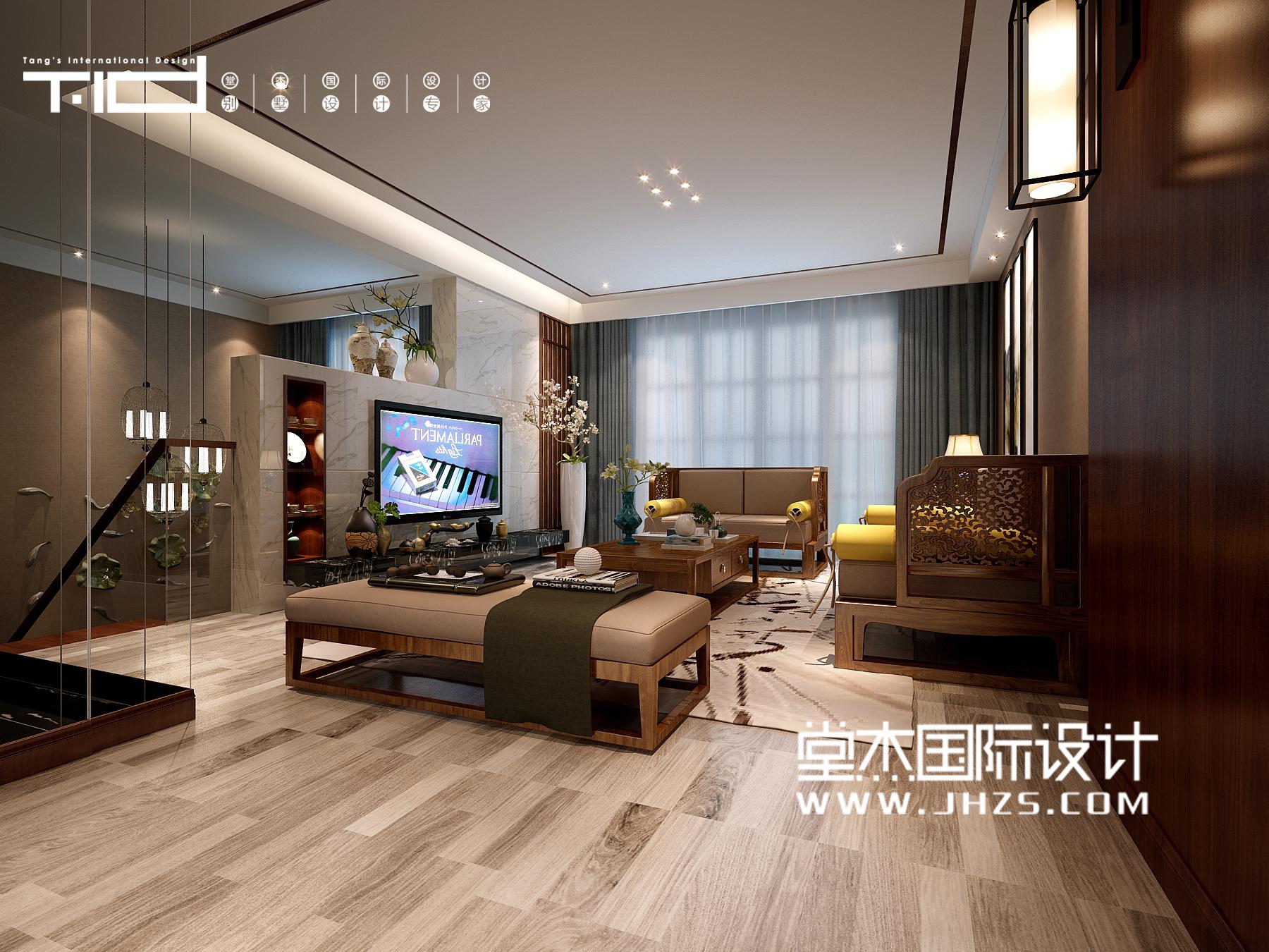 万悦城26号楼  240㎡  新中式