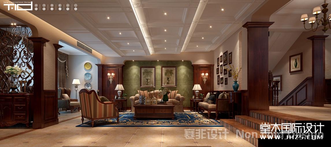 久隆山水苑V区76号楼  330㎡ 古典美式