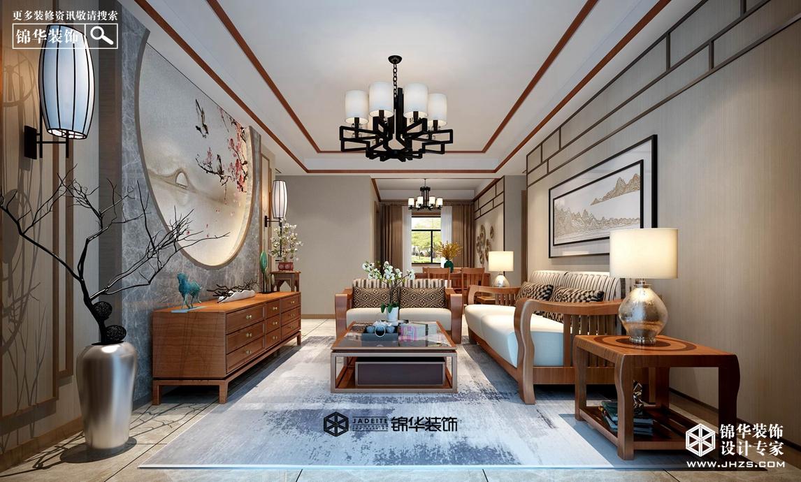 汉源国际丽城8号楼  160㎡ 新中式风格