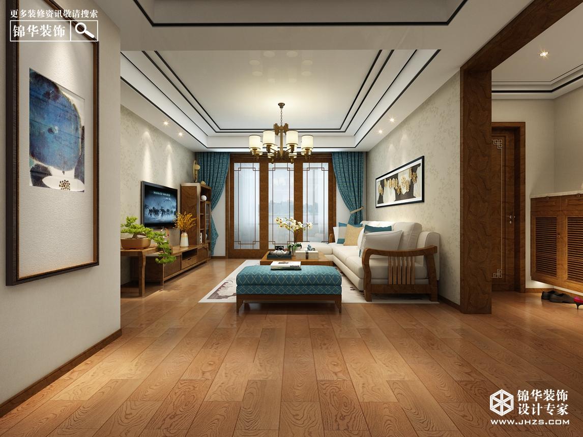 南湖尚苑11号楼 125㎡ 新中式风格