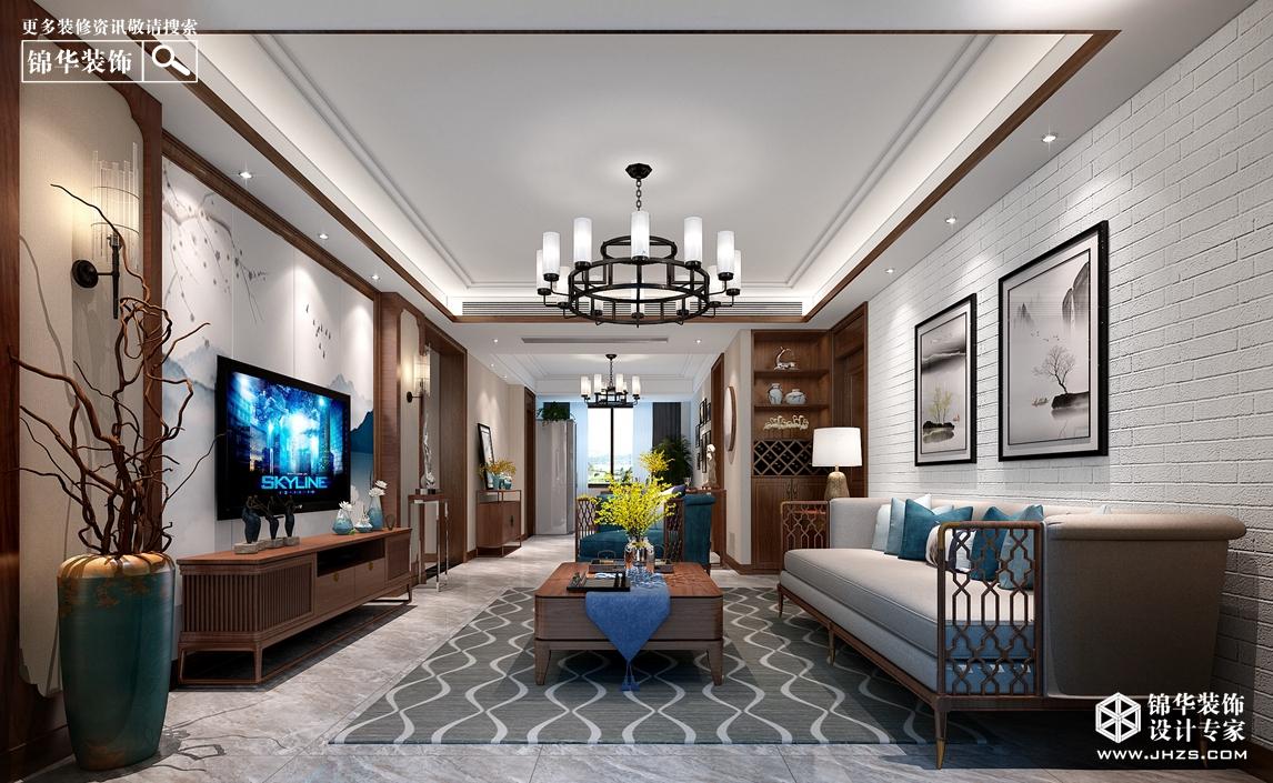 南湖尚苑2号楼   125㎡ 新中式风格