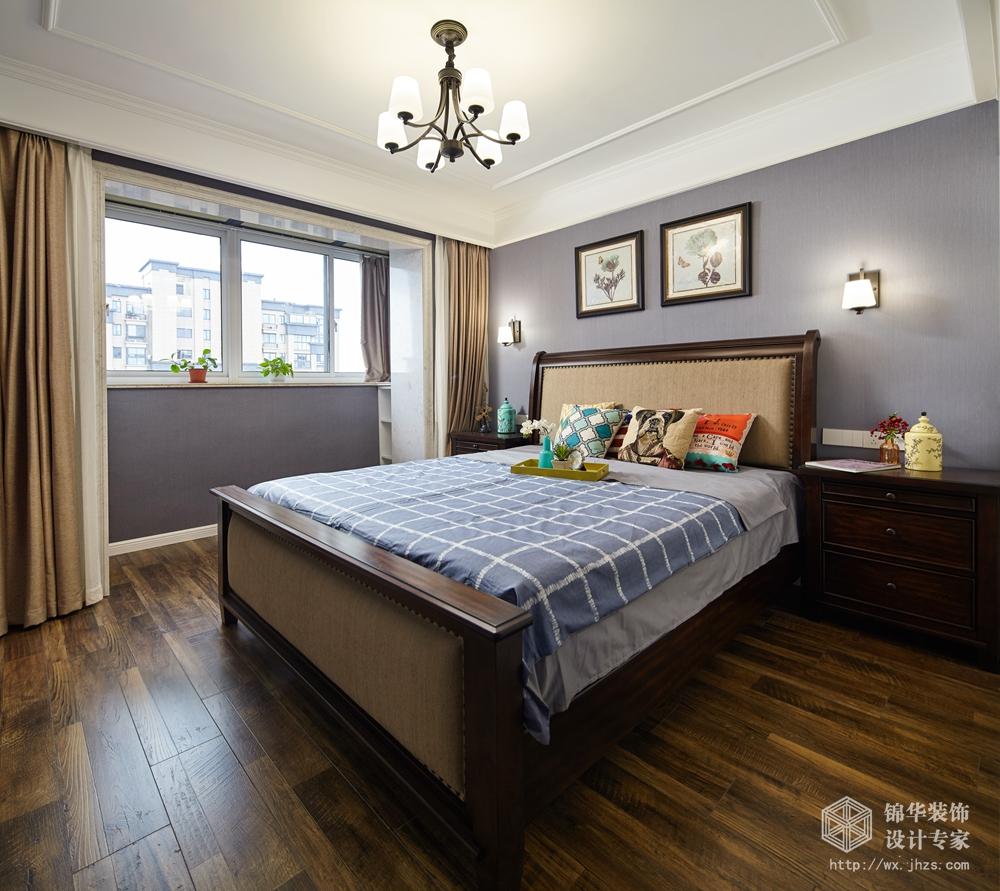 维纳阳光130平小美风格实景图装修-三室两厅-简美