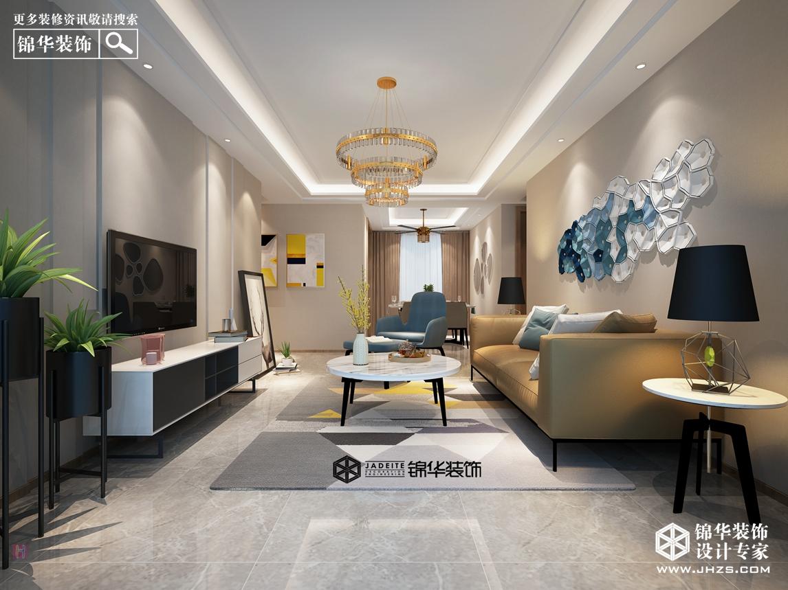 汉源国际丽城8号楼 160㎡  时尚艺术风格