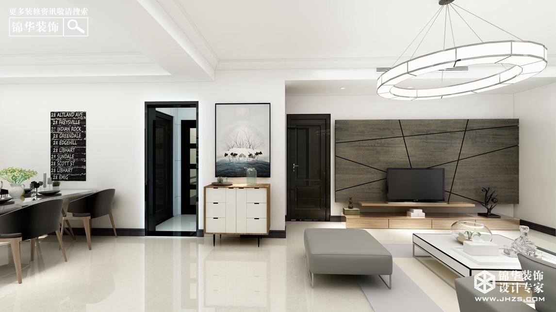 南湖尚苑14号楼 125㎡  现代简约风格