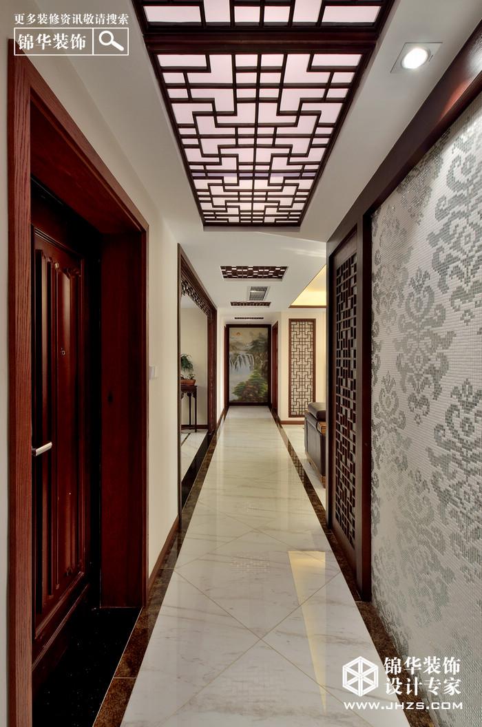 保利香槟国际 170㎡  新中式装修-四室两厅-新中式