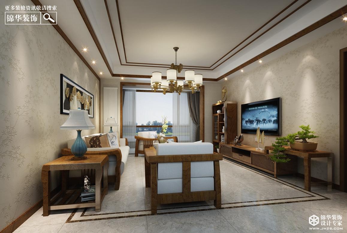 万悦城360全景  130㎡ 新中式风格