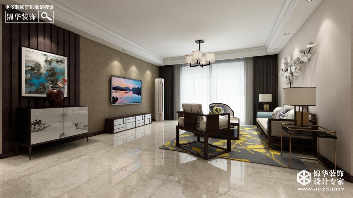 玉泉雅筑360全景 11号楼  137㎡  现代中式风格