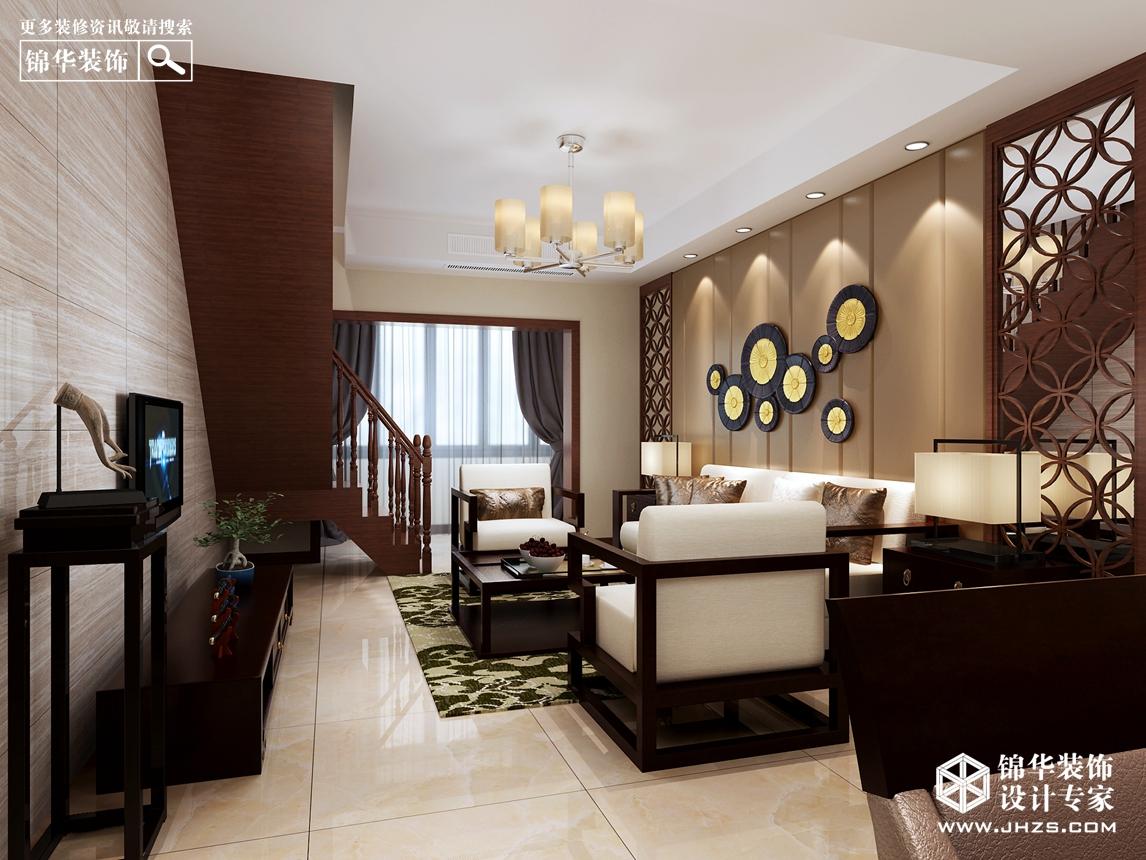 福源国际2号楼  170㎡  中式风格