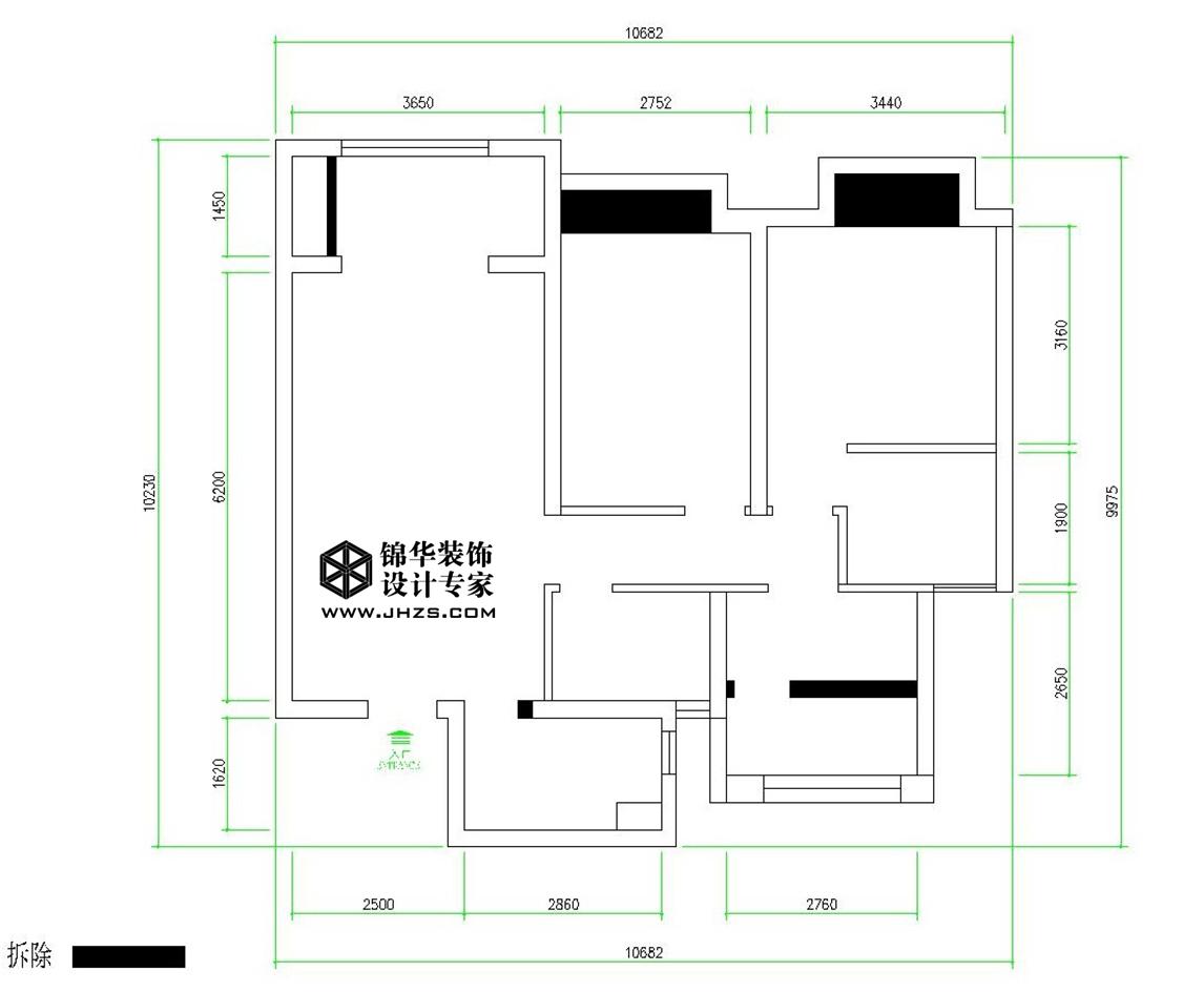 海尔 滟澜公馆360全景  9号楼  北欧风格装修-三室两厅-北欧