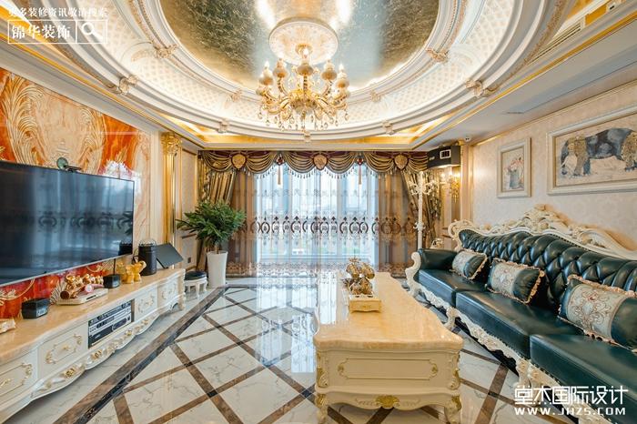 在馥郁的季节,美好请进——『风尚米兰』500㎡法式别墅实景