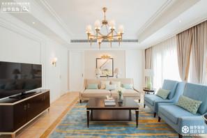 现代简美风格-久隆凤凰城-大户型-280平米-装修实景效果图