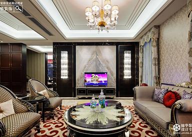 新古典风格-檀香山别墅-五室四厅-550平米-装修实景效果图
