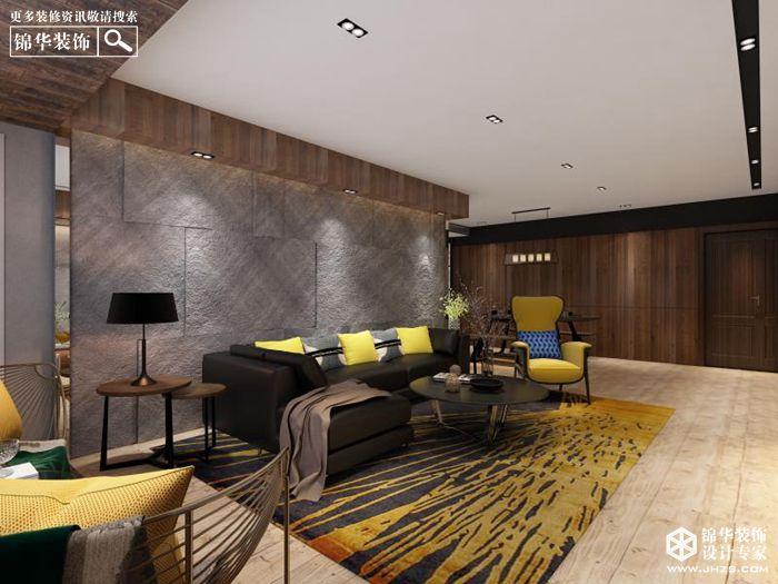 地王大厦135平方米台式风格