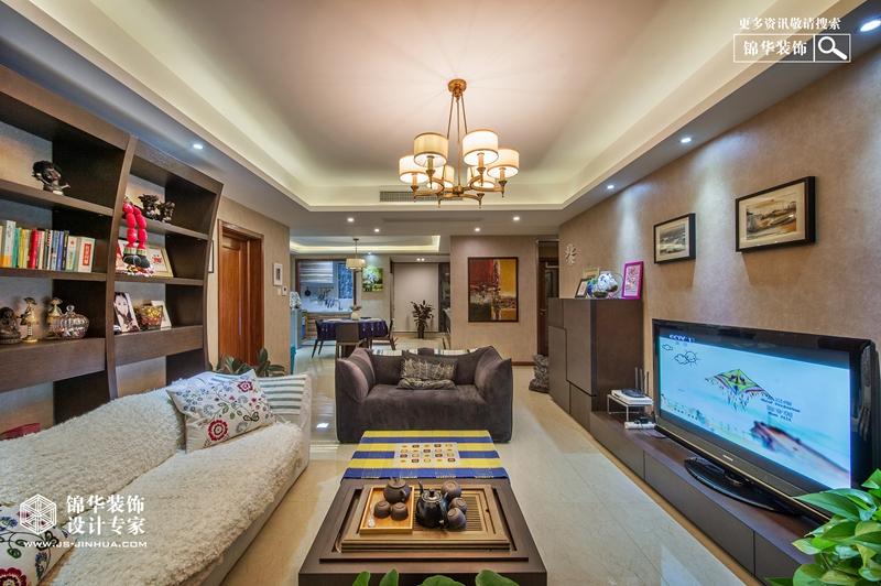 现代简约-龙湖世家-三室两厅-140㎡装修-三室两厅-现代简约