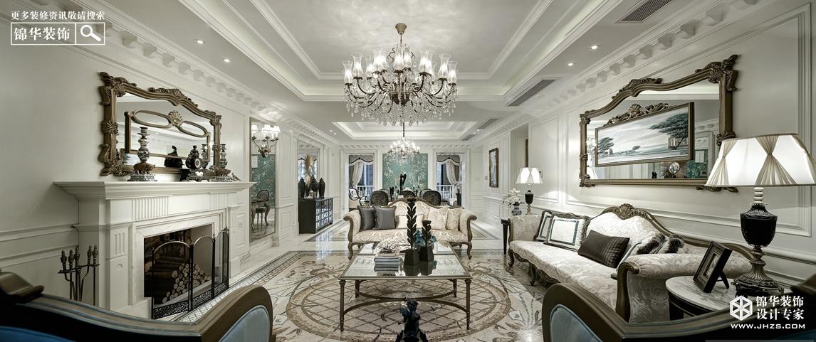 檀香山386㎡古典欧式风格-馨语装修-别墅-欧式古典