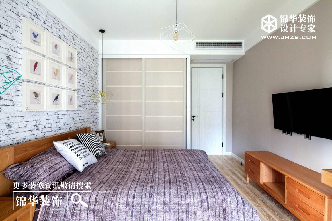 现代简约风格-滨湖花园-三室两厅-140平米-装修实景效果图装修-三室两厅-现代简约