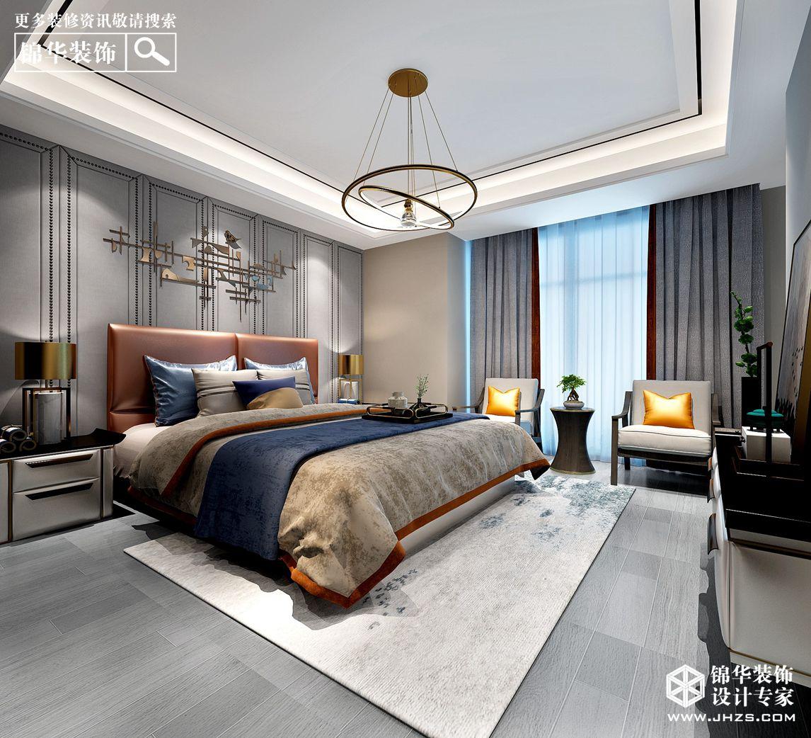 现代中式-风尚米兰-四室两厅-173㎡装修-四室两厅-新中式