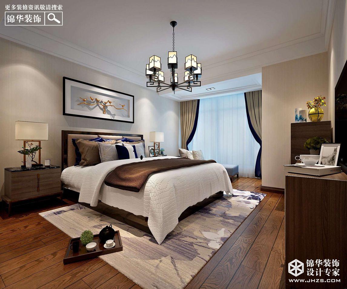 新中式风格-苏宁尊悦府邸-三室两厅-157㎡-360°装修实景效果图