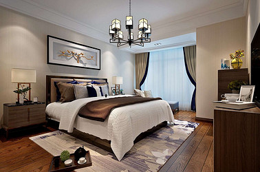 新中式-苏宁尊悦府邸-三室两厅-157㎡