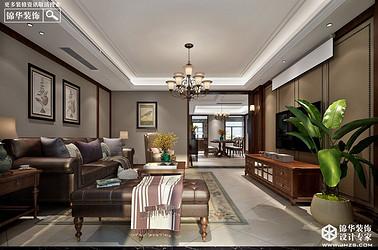 简约美式-风尚米兰-三室两厅-196㎡