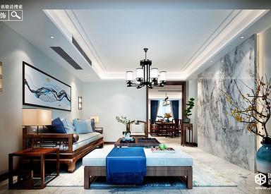 新中式-风尚米兰-三室两厅-143㎡