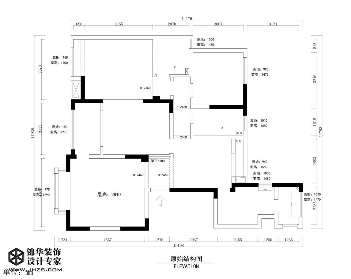 新中式-风尚米兰-三室两厅-143㎡装修-三室两厅-新中式