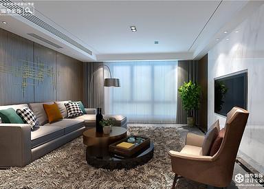 现代简约-锦绣湖畔-三室一厅-143㎡